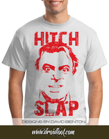 Christopher Hitchens Tee: Hitch Slap by DesignBomb