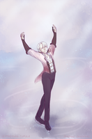 Viktor On Ice by PandaNyu