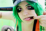 GUMI .:Loud, Smoking Eyes:. by Manon-Blutsanguen