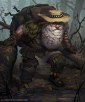 The Old Swamp Hermit by AlexKonstad