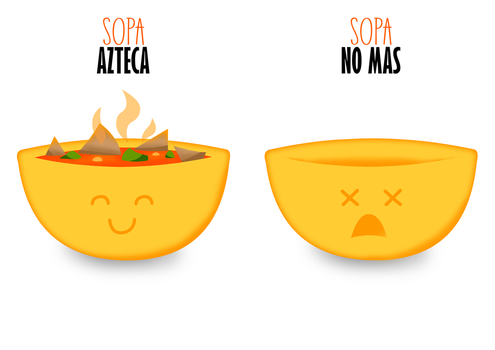 Sopa Azteca Poster by silentscarecrow