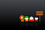 southpark black wallpaper by zakirs