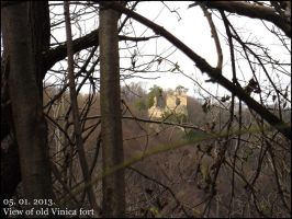 View of Vinica burg by Ajna357