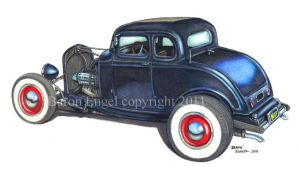 1932 5 window Ford coupe by Baron-Engel
