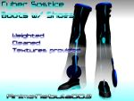Cyber Solstice Boots W_shoes DL! by AnimeNebula003