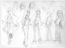 Runaways: Karolina Sketches by MonteCreations