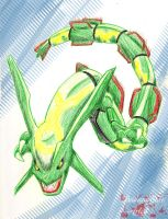 Rayquaza Quickie by DeidaraEmoArtist