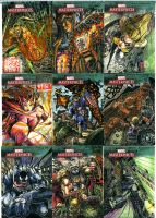 Marvel Masterpiece 3 Lot 2 by DKuang
