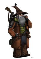 Gundulf the Gun Wizard by Blazbaros