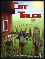 Cat Tales mock cover by BlueMaroon