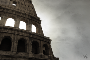 Rome - Colosseum by Cheezen
