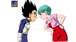 VegetaXBulma .:Lineart33:.Color by PrinzVegeta