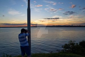 Sunset Photographer by EyeInFocus