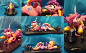 Princess Cadence Sculpture [SOLD] by AlicornParty