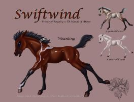 Royal x Heartbeats - Swiftwind by FlareAndIcicle