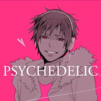 Psychedelic_Izaya by Zoo-chan
