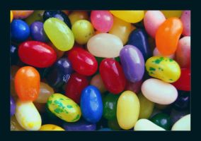 Colourful Jellybeans. by she-sins