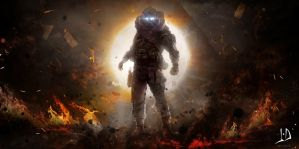 Hell Soldier by jamesdesign1