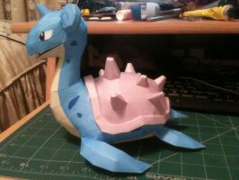 Lapras Papercraft - Side by sazmullium