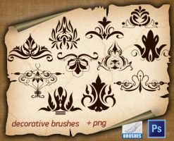Decorative Brushes 1450 by roula33