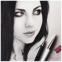 Amy Lee (w.i.p.) by Ladowska