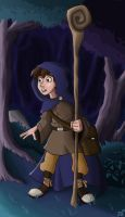 Galvin, the little wizard by Calick
