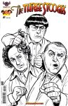 Three Stooges Sketch Cover by timshinn73