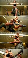 Black Lagoon: Dutch and Revy by Hikaru-Jan