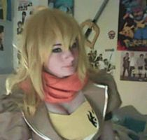 RWBY: Yang says hi gif by KaylaErinOfficial