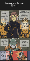 Skyrim - Thalmor and College 1/2 by Doku-Sama
