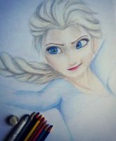Elsa - Sketch by JacqueMatt