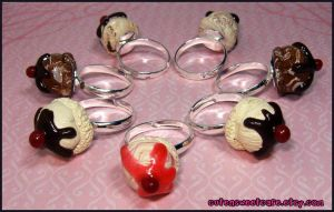 Ice Cream Scoop Rings by pinknikki