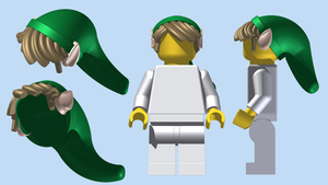LEGO Link's Cap 3.0 by mingles