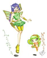 Winx Club OC-Linri and Naki by IsisConstantine