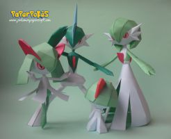 Ralts' Family Portrait by Olber-Correa