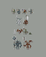 Pixel Characters by ObinSun