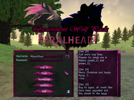 Feral Heart Pink Skin / Mod / Theme / Interface by MoscoMoon