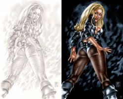 Black Canary Rules by Espy by pixeltease