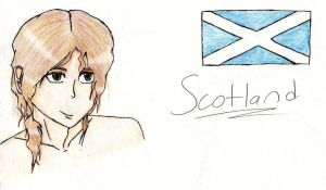 Scotland OC by WaterpipeToTheSkull