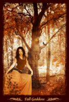 Fall Goddess by InYaFaceDesigns