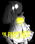 .:Alphys Takes Action:. Alphys NEO by Densetsu-Sama