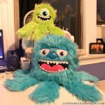 Mike and Sully Monstroctopi by loveandasandwich