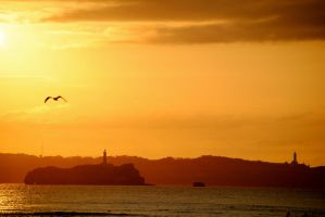 Santander's sunset by clumsilycast-0ff