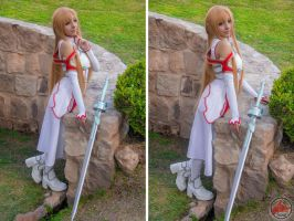 Nice day with Asuna by MaySakaali