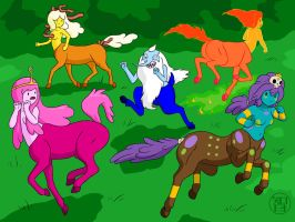 Centaurs Galore by -coldfusion-
