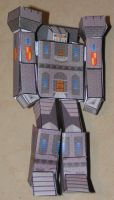 Castle Bot - Robot Mode by aim11