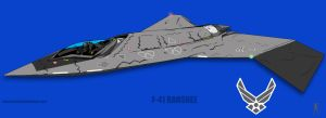 desTINY-F-41 BANSHEE by edwardrigaud