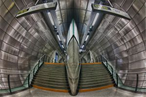 London Southwark Station HDR by melmarc