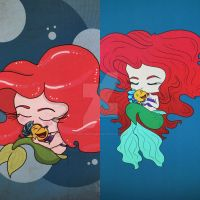 Ariel before and after by aprilmdesigns