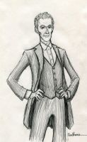 The 12th Doctor by ElvenWhovian